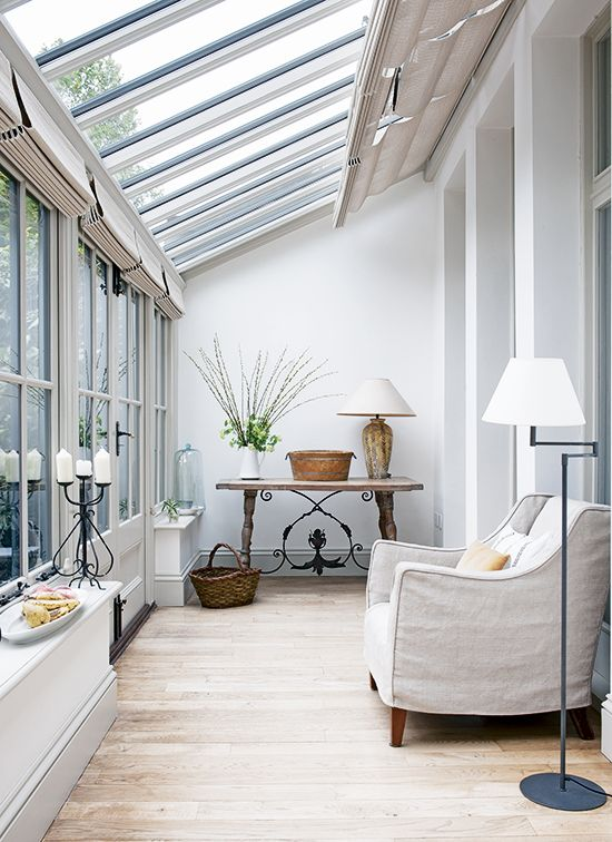 small conservatory lean to