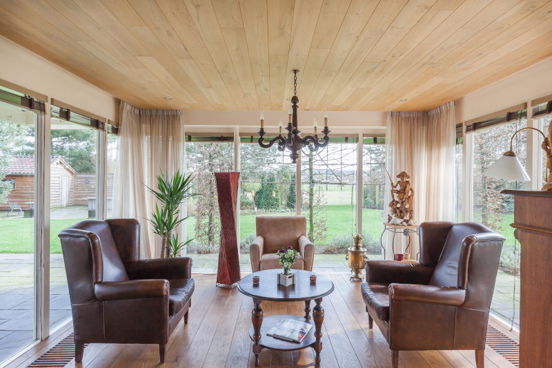 Stylish conservatory insulation